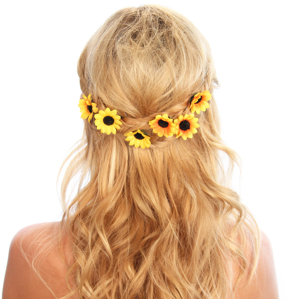 Sunflower Hair Grips - Kristin Perry Accessories - 1
