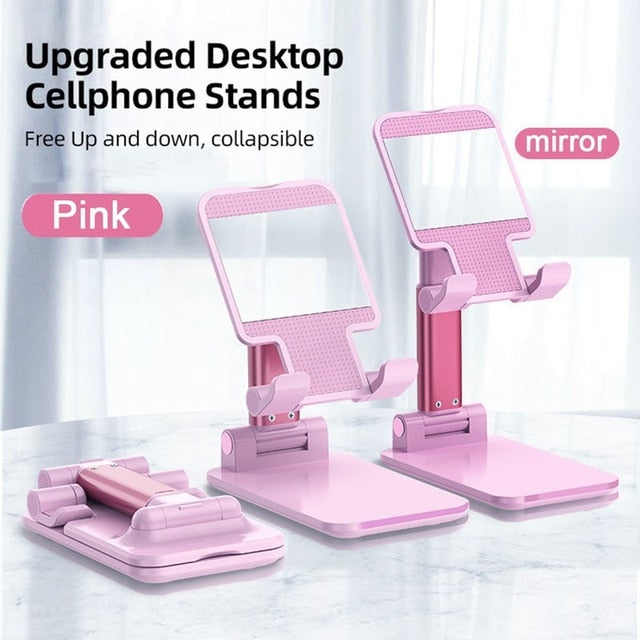 Universal Desktop Tablet Holder Table Cell Foldable Extend Support Desk Mobile Phone Holder Stand For iPhone iPad Xiaomi