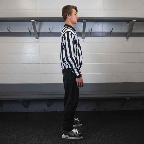 Zebrasclub beginner hockey referee kit right view