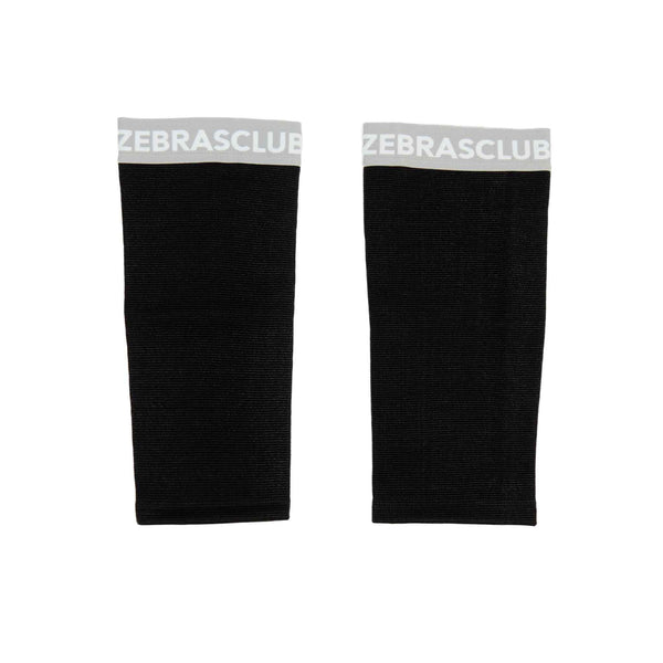 Zebrasclub hockey referee compression shin tights shin sleeve