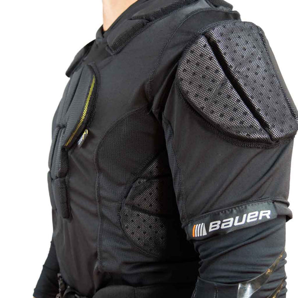 Bauer hockey referee padded shirt ribs padding