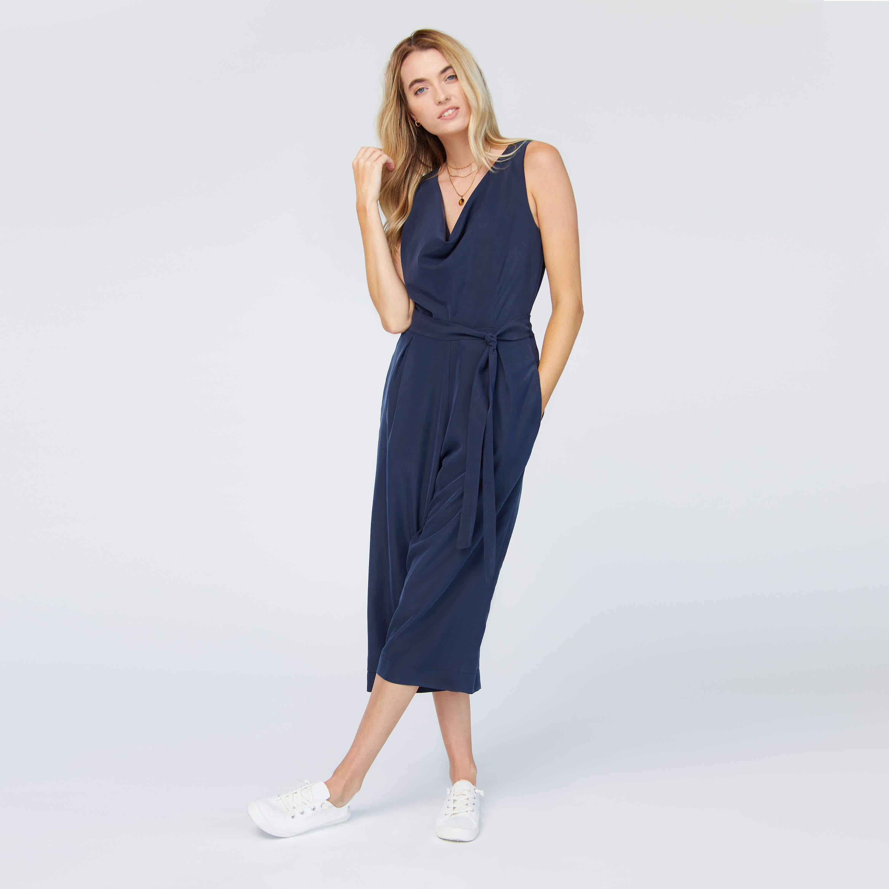 Everywhere Jumpsuit in Azure