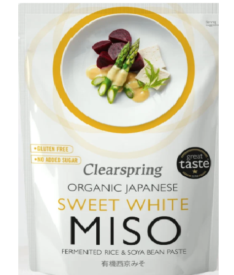 ORGANIC JAPANESE SWEET WHITE MISO
