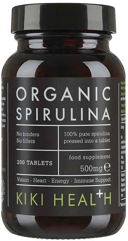 SPIRULINA 500MG 200 TABLETS