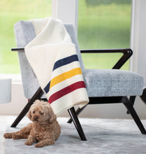 Load image into Gallery viewer, Faribault Frontier Wool Throw | Duman Home