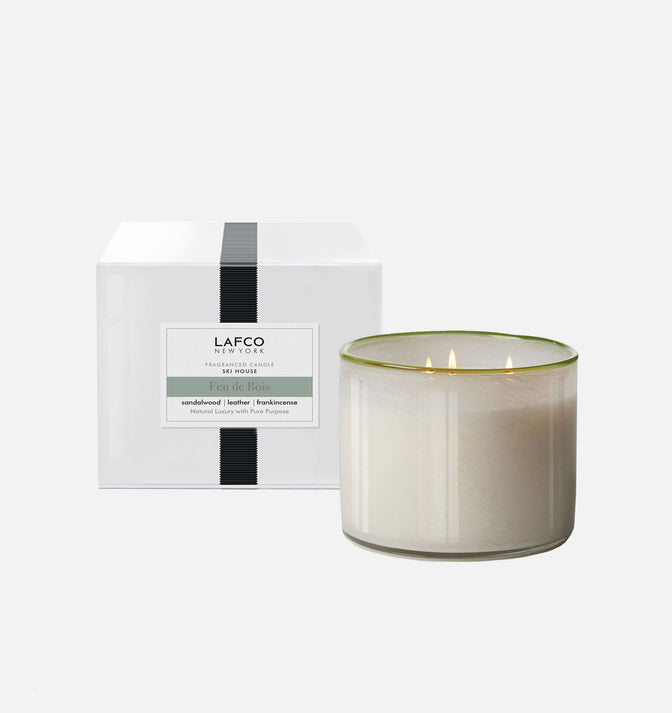 Load image into Gallery viewer, Lafco Feu De Bois Ski House Candle - 3 Wick Candle | Duman Home