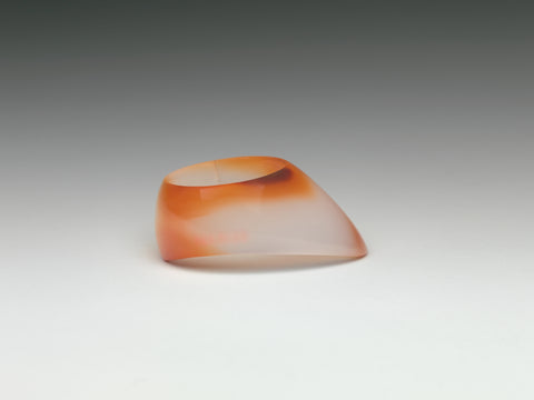 A carnelian archer's ring (Metropolitan Museum of Art)