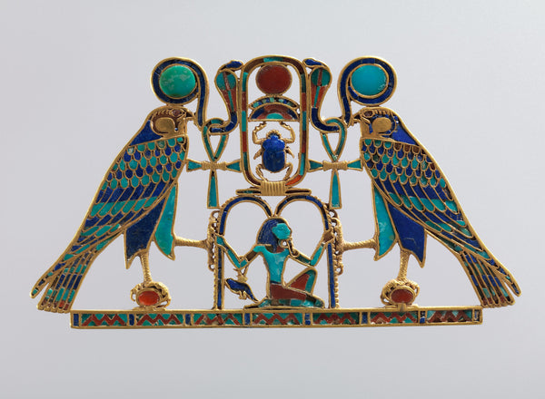 Pectoral and Necklace of Sithathoryunet with the Name of Senwosret II. From Egypt.  (Metropolitan Museum)