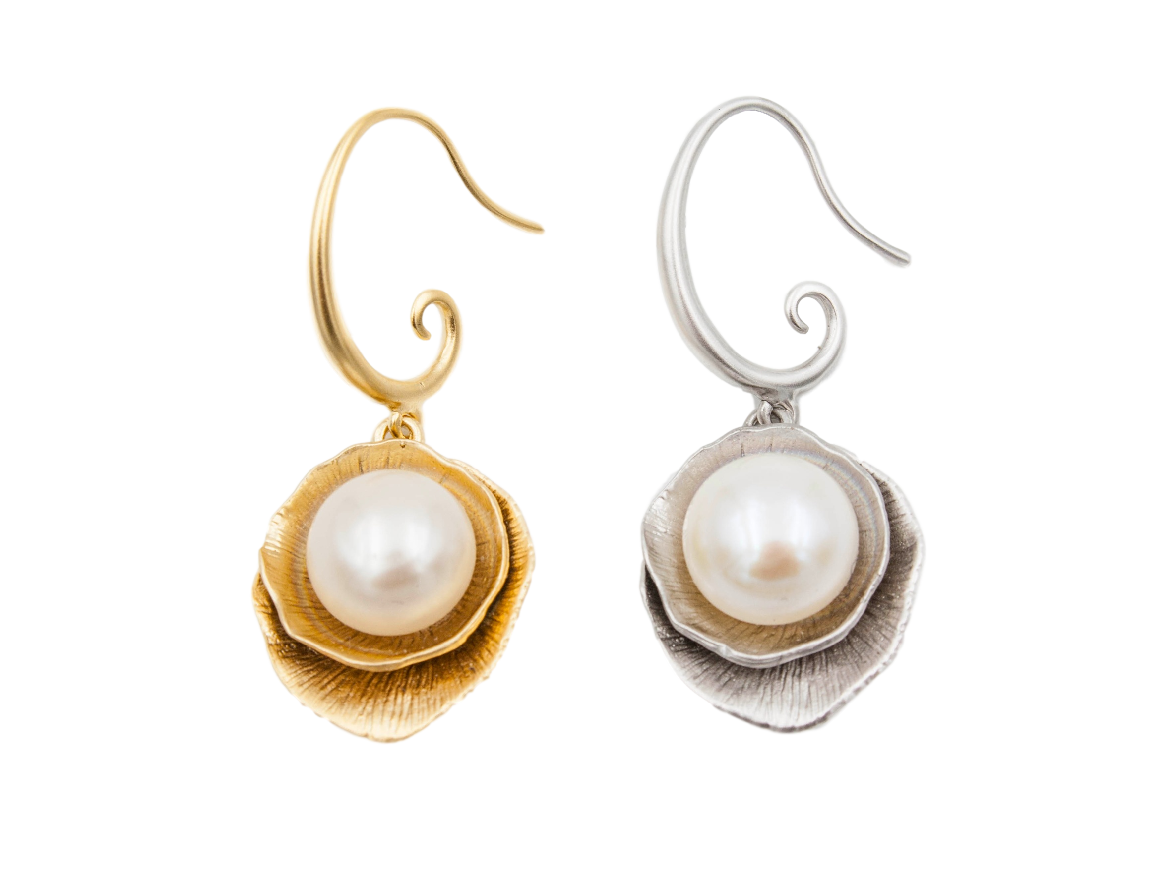 irregular pearls front products wwake pearl earrings