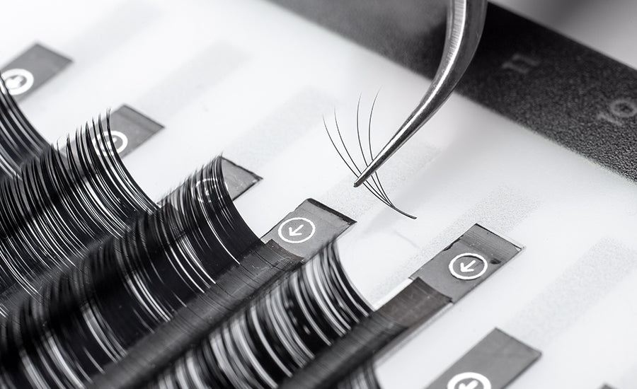 Choose lash extensions by length