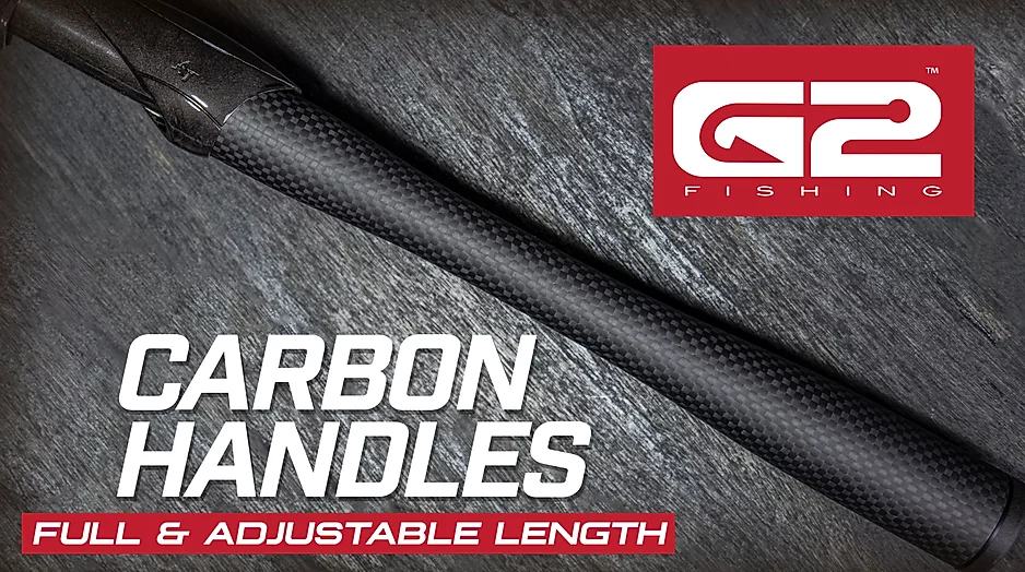 G2 carbon handles, American Tackle, carbon fiber handles, fishing rod handles