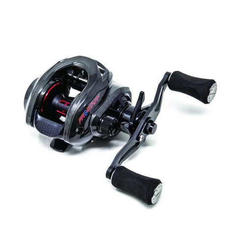 These Premium Carbon ProStaff LP8 casting reels are prototype high speed 8.0:1 retrieves incorporated into a small light weight ergo frame. Only a limited supply available and it's an opportunity to obtain an unbranded prototype version prior to them hitting the market with other labels and their various different configurations.