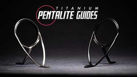 Black Titanium Pentalite Double Foot Guides