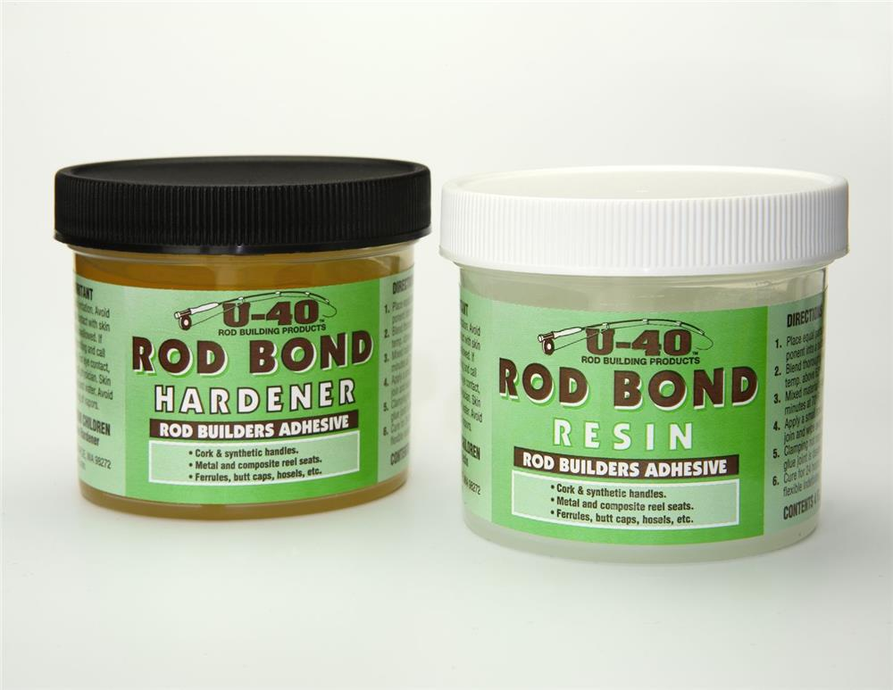 The rod builders adhesive designed by a rod builder engineer for rod builders. A two-part, tough, durable yet flexible epoxy adhesive, made specifically for fishing rods and the unique applications that rod building requires