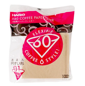 beanbundle Hario V60-01 Brown (100 Pack) - Coffee Subscription Canada