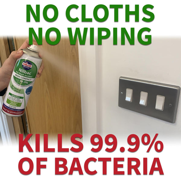 Nilco Nilbac® Dry Touch High Contact Sanitiser - 500ml