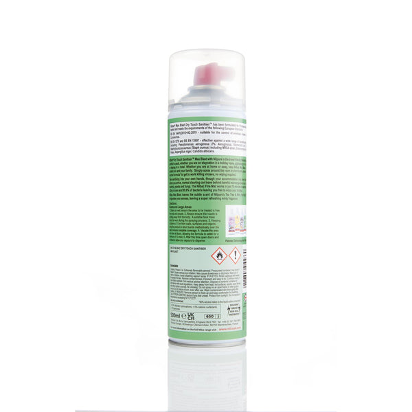 Nilco Nilbac® Max Blast Dry Touch Sanitiser 500ml - Tea Tree & Mint