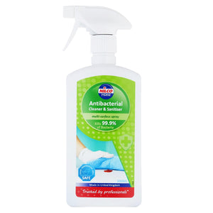 Nilco Antibacterial Cleaner and Sanitiser Multi-Surface Spray - 500ml