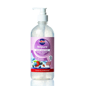 Nilco Nilpure Moisturising Fragranced Berry Blast Scented Hand Sanitiser - 500ml