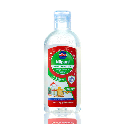 Nilco Nilpure Moisturising Fragranced Christmas Cookies Scented Hand Sanitiser -100ml