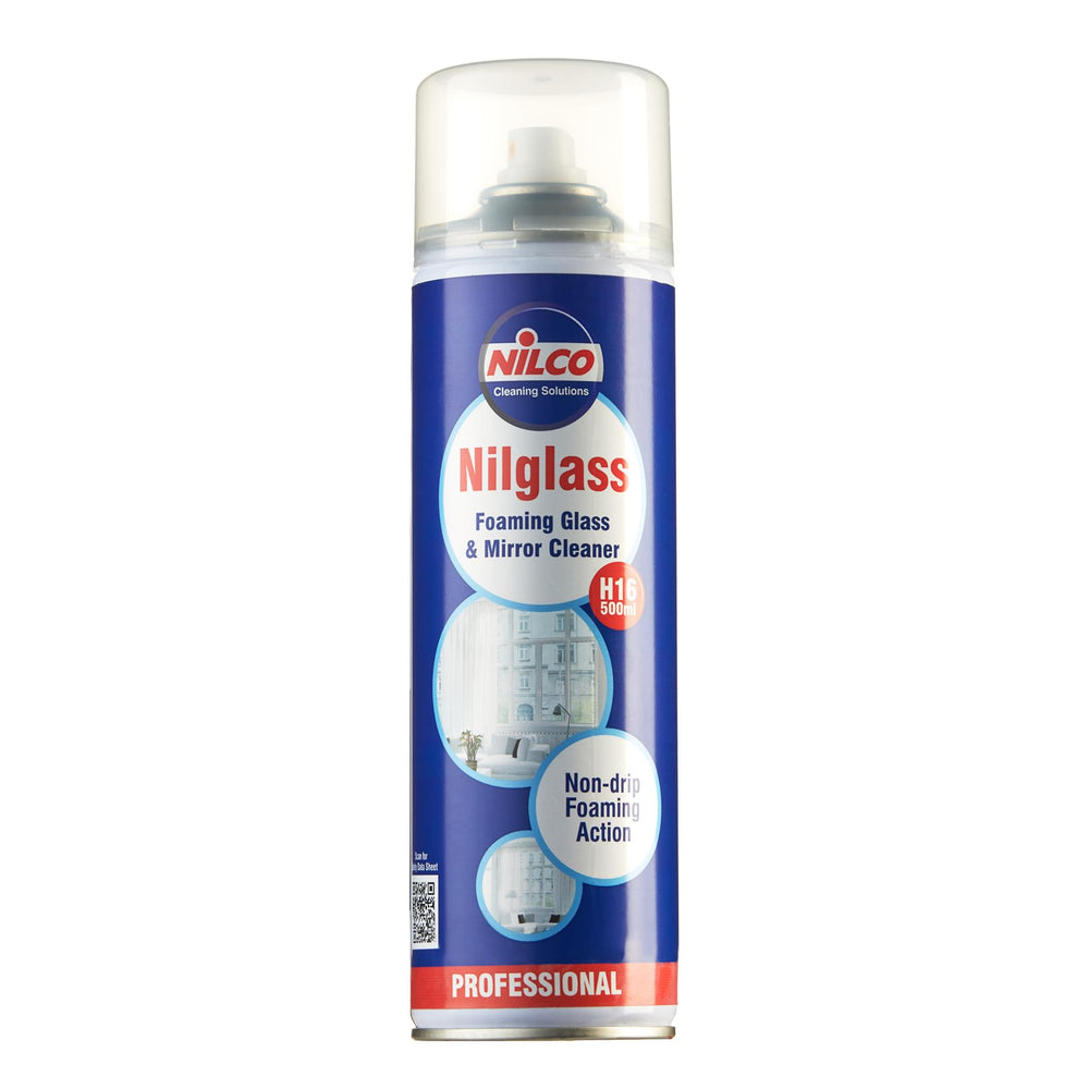 Nilco H16 Nilglass Foaming Glass Cleaner 500ml