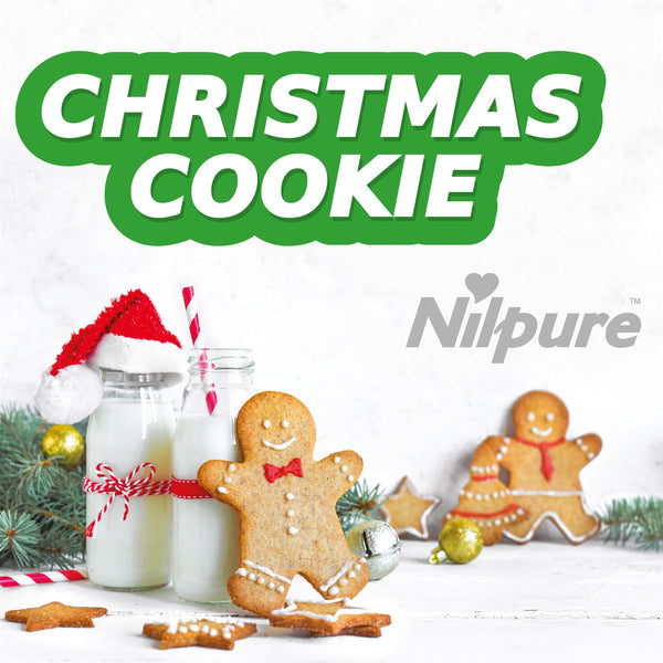 Nilco Nilpure Christmas Cookies Scented Hand Sanitiser - 5L x 12 with Free Nilco Sanitising Station