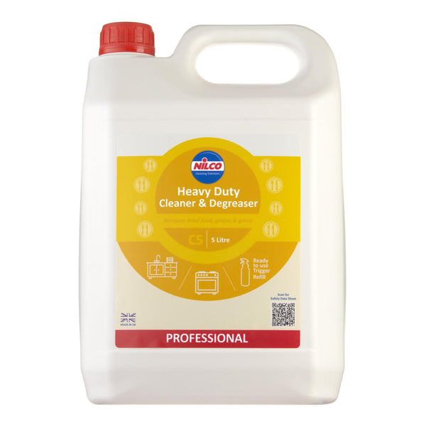 Nilco C5 Heavy Duty Cleaner & Degreaser 5L