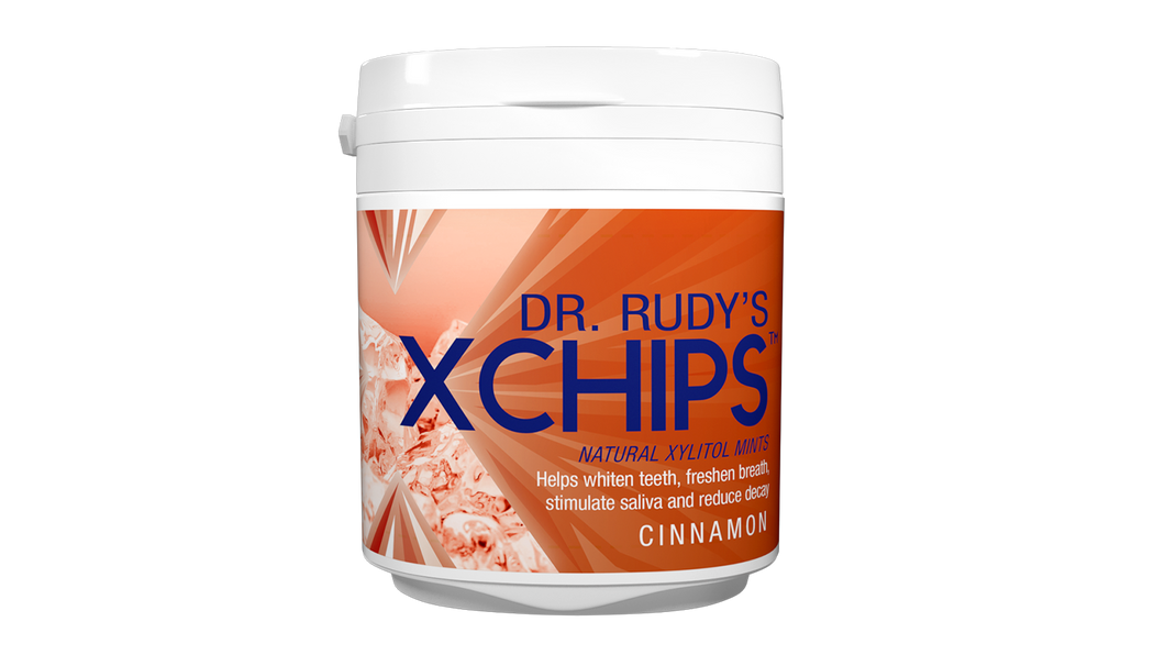 Dr Rudy's Xchips with Xylitol  (Cinnamon)