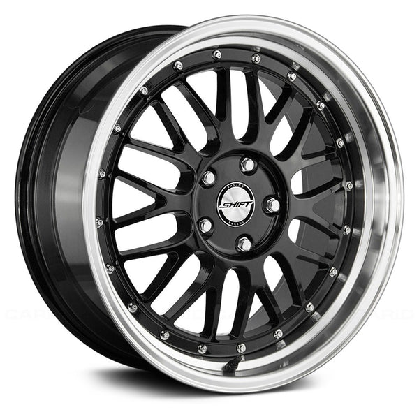 Shift Flywheel Gloss Black w/ Polished Lip