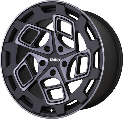 Radi8 r8cm9 Black w/ Machined Face
