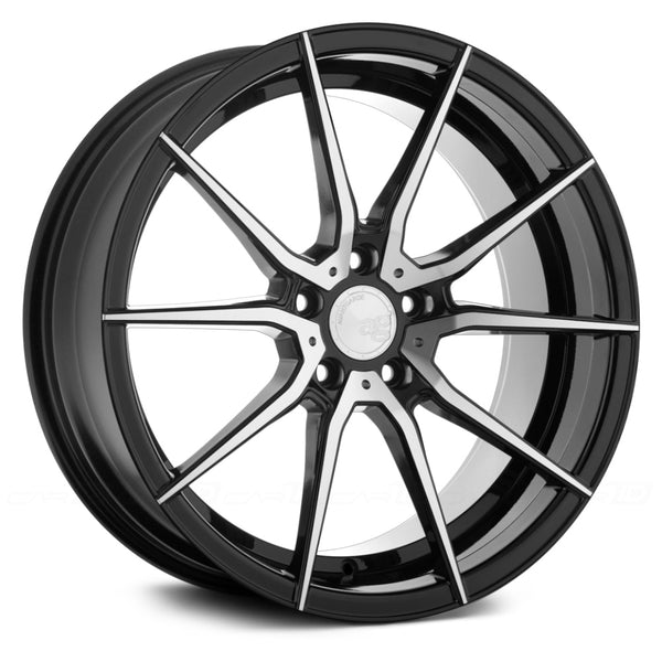 AG Wheels M652 Black Machined