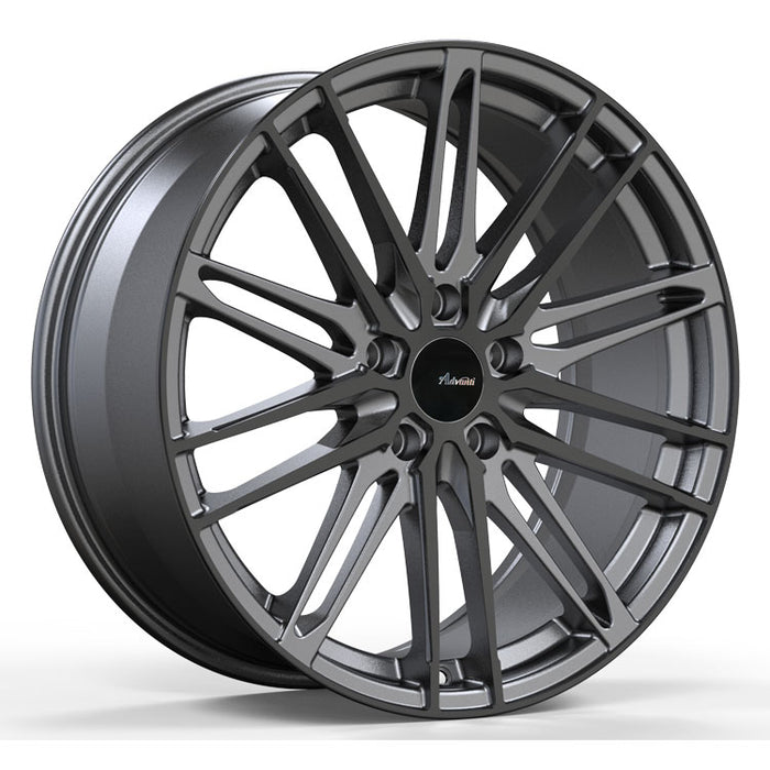 Advanti Racing Diviso Matte Gunmetal w/ Gloss Black Face