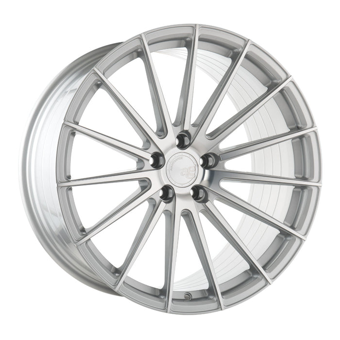 AG Wheels M615 Silver Machined