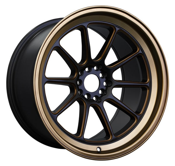 XXR 557 Flat Black / Bronze