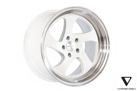 Varrstoen MK2 White w/ Machined Lip