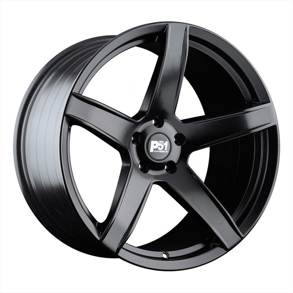 AG Wheels P51- HC707 Matte Black