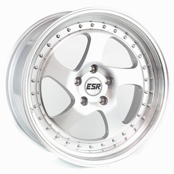 ESR SR02 Silver Machined Face w/ Machined Lip