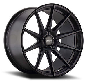 Varro VD10 Gloss Black w/ Brushed Face
