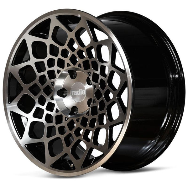 Radi8 r8b12 Black w/ Machined Face