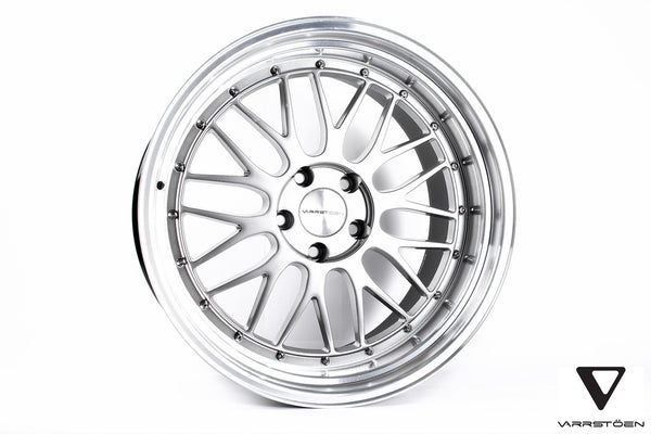 Varrstoen ES1 Hyper Silver w/ Machined Lip