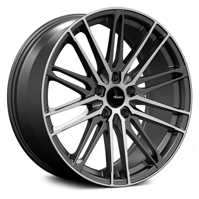 Advanti Racing Diviso Matte Black w/ Machined Face