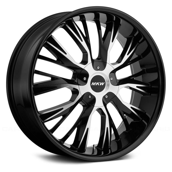 MKW M122 Gloss Black Machined