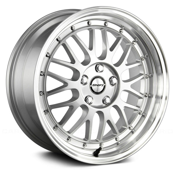 Shift Flywheel Silver w/ Polished Lip
