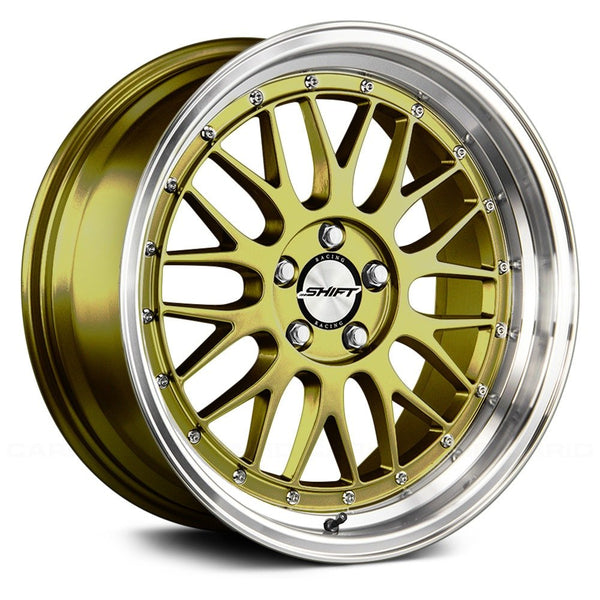 Shift Flywheel Gold w/ Polished Lip
