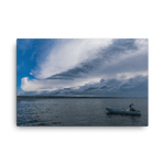 Load image into Gallery viewer, Summer storm over Starigrad Harbour by Matija Šimunić