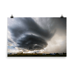 Load image into Gallery viewer, Train passing under a mesocyclone