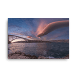 Load image into Gallery viewer, Amazing lenticular cloud at sunset