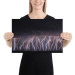 Load image into Gallery viewer, Amazing lightning show in Gabicce Mare