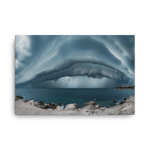 Load image into Gallery viewer, Amazing shelf cloud over Adriatic Sea