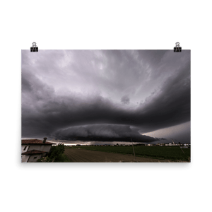 Amazing supercell in Veneto